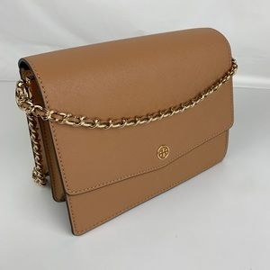New Tory Burch Robinson Convertible Shoulder Bag